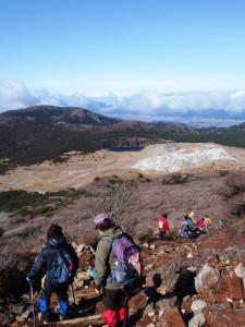 樹氷探し「韓国岳」トレッキングを開催しました