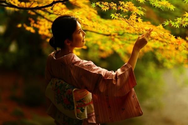 霧島神宮と和服と紅葉と・・・