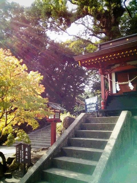 秋の鹿児島神宮