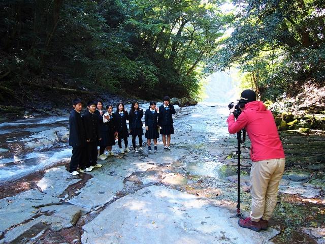 高校生とゆく☆観光モデルコースを作成中です