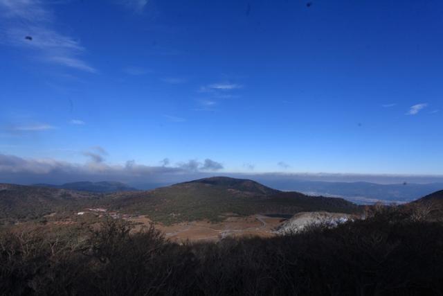 秋晴れの韓国岳☆