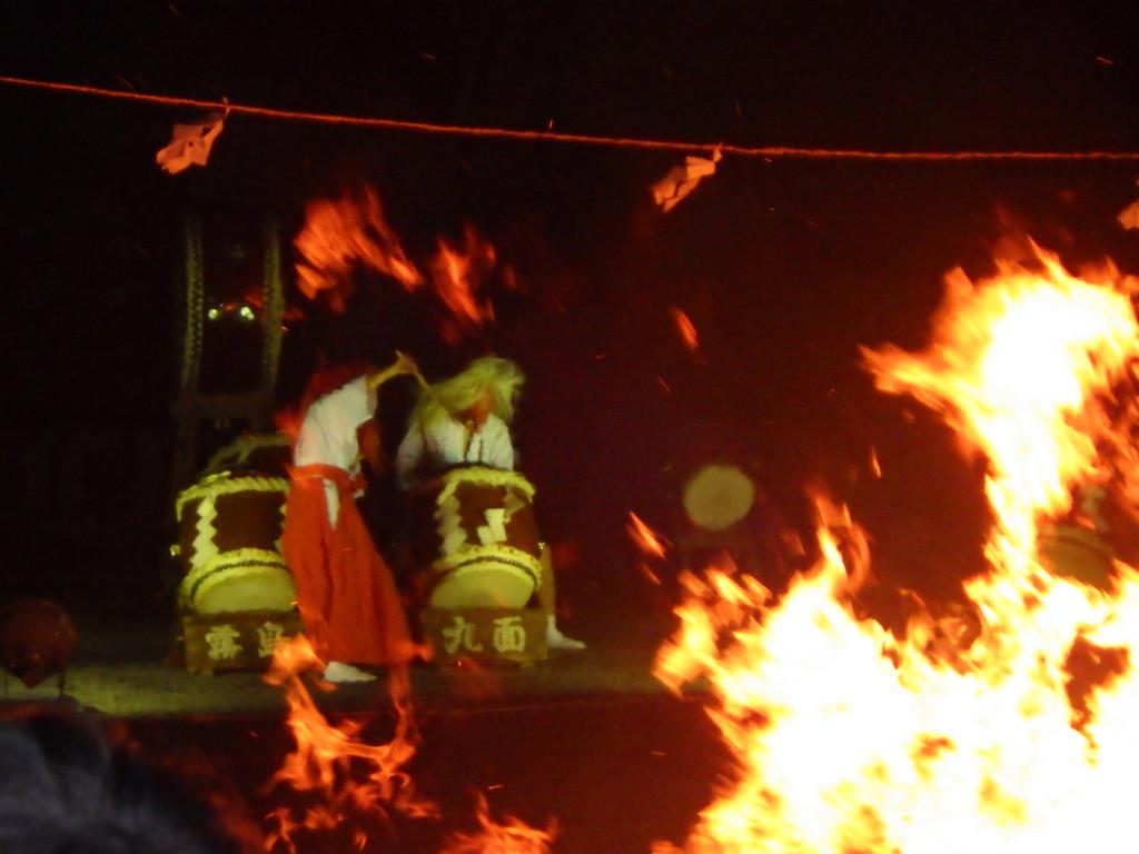 天孫降臨御神火祭が行われました
