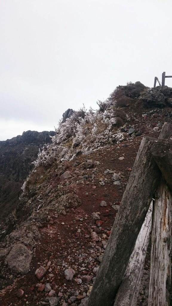韓国岳から大浪池へ(12月7日)