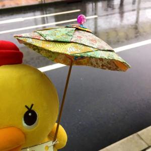 雨の日も楽しみましょう(*^^)v