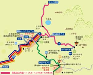 霧島山登山は霧島連山周遊バスが便利です!