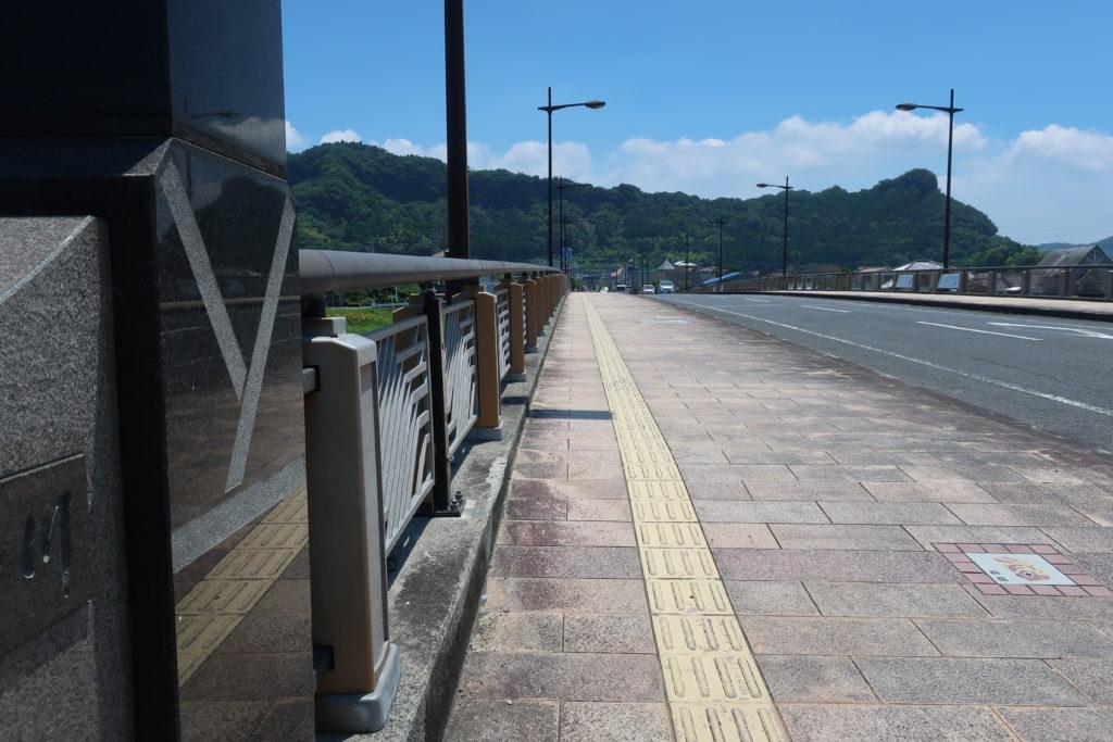 泉帯橋を歩いてみました(^^)/