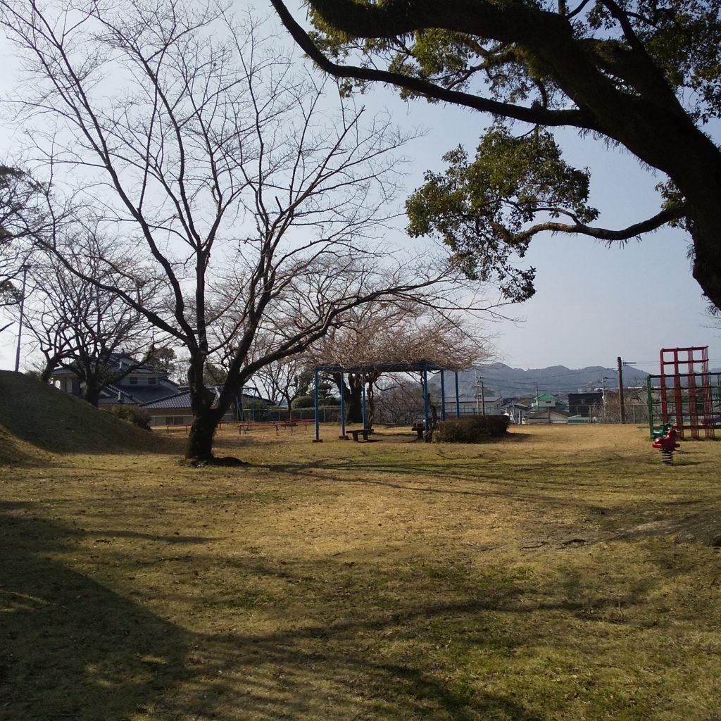 富隈城跡へ②