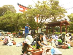 ベランダ夏野菜教室、無事開催できました。