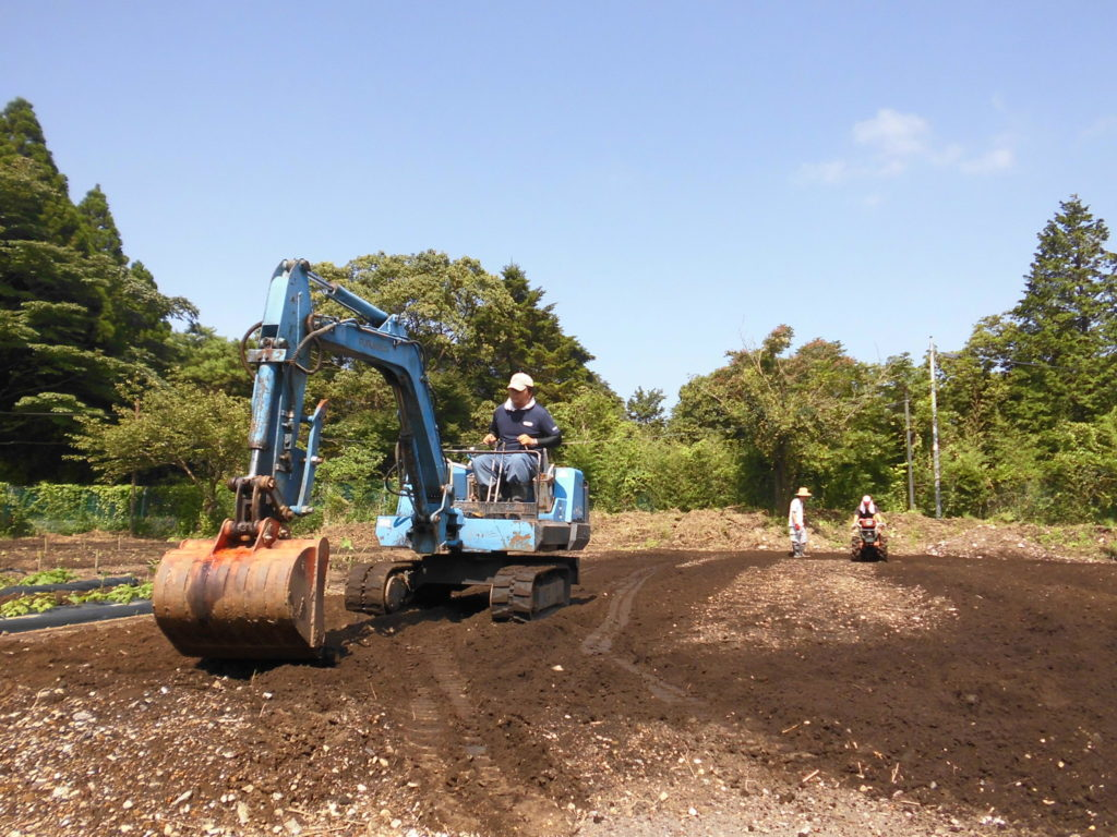 Kirishima Community Garden Project 農園、着々と。